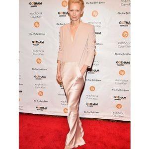 Haider Ackermann Rose Blush Silk GownBoutique for sale